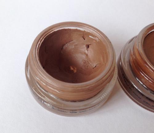 mac paint pot swatch review