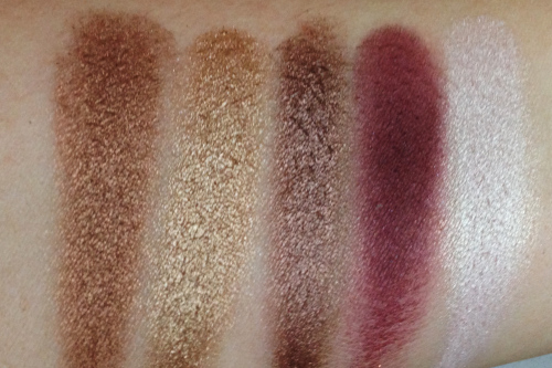 i heart chocolate palette swatches