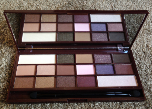 i heart chocolate palette review